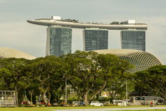 Marina Bay Sands in SIngapore Royalty Free Stock Photography