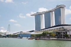 Marina Bay Sands in Singapore Royalty Free Stock Photo
