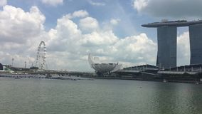 Marina Bay Sands, Singapore stock video