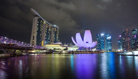 The Marina Bay Sands Royalty Free Stock Photography
