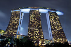 The Marina Bay Sands Royalty Free Stock Images