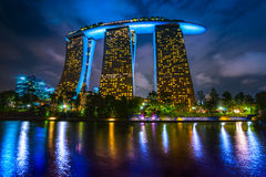 Marina  Bay Sands, Singapore. Royalty Free Stock Image