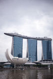 Marina Bay sands, Singapore Stock Images