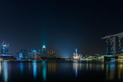 Marina Bay Sands in Singapore Stock Images