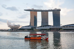 Marina Bay Sands in Singapore Stock Photography