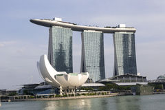 Marina Bay Sands in Singapore Stock Photo