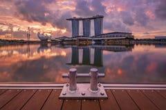 Marina Bay Stock Photo