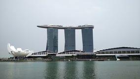 Marina Bay Sands Singapore Stock Image