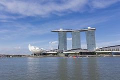 Marina Bay Sands in Singapore Stock Photo