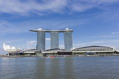 Marina Bay Sands in Singapore Stock Image