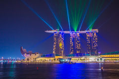 Marina Bay Sands, Singapore. Royalty Free Stock Images