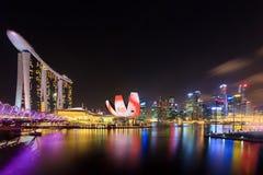 Marina Bay Sands, SINGAPOUR Photographie stock libre de droits