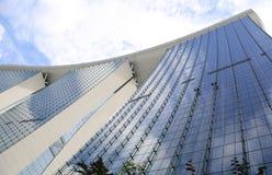 Marina Bay Sands in Singapur lizenzfreies stockfoto