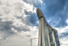 Marina Bay Sands - Singapur Imagen de archivo libre de regalías