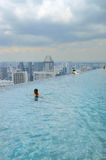 Marina Bay Sands SkyPark Stock Photo