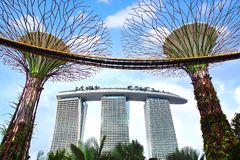 Marina Bay Sands. Royalty Free Stock Photo