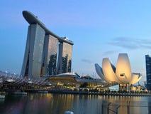 Marina Bay Sands. View Royalty Free Stock Photos
