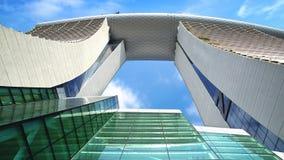 Marina Bay Sands. Royalty Free Stock Photo