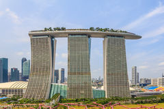 Marina Bay Sands Stock Photography
