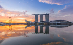 Marina Bay Sands, World's most expensive standalone casino property in Singapore Stock Photography