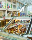 Marina Bay Shopping Mall, Singapur fotos de archivo