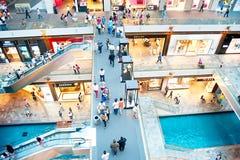Marina Bay shopping plaza Royalty Free Stock Photography