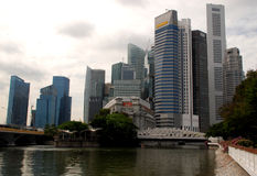 Marina Bay, Singapore Royalty Free Stock Images