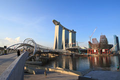 Marina Bay,Singapore Royalty Free Stock Photo