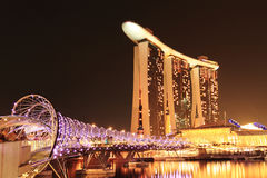 Marina Bay Singapore Royalty Free Stock Photography