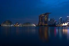 Marina Bay Singapore Stock Images