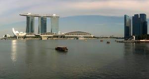 Marina Bay, Singapore. Pano Marina Bay, Singapore. Wonderful city Stock Photos