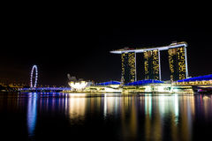 Marina Bay, Singapore Royalty Free Stock Photography