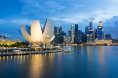 Marina Bay, Singapore Royalty Free Stock Photos