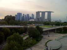 Marina Bay Singapore Stock Photography
