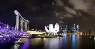 Marina Bay Singapore royalty free stock image