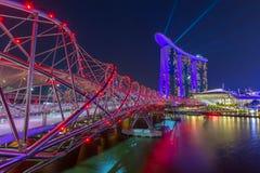 Marina Bay in Singapore Royalty Free Stock Photo