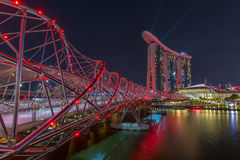 Marina Bay in Singapore Royalty Free Stock Images