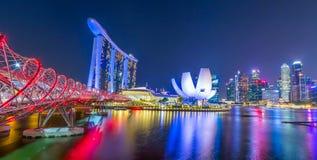 Marina Bay in Singapore Royalty Free Stock Photos