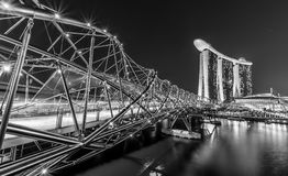 Marina Bay in Singapore Stock Photography