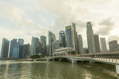 Marina Bay, Singapore Stock Photography