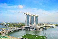Marina Bay in Singapore Royalty Free Stock Photography