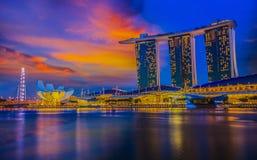 Marina Bay Stock Photography