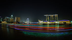 Marina Bay Singapore Royalty Free Stock Images