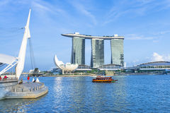 Marina Bay Singapore Royalty Free Stock Image