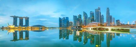 Marina bay of Singapore Royalty Free Stock Photography