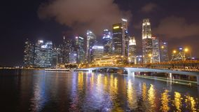 Marina Bay, Singapur - timelapse
