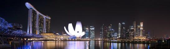 Marina Bay Skyline Stock Images