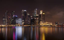 Marina Bay Skyline Stock Photo