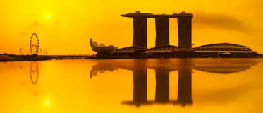 Marina bay Stock Photography