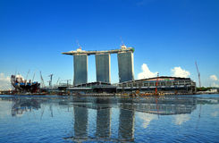 Marina Bay : Urban Landscape Stock Photo